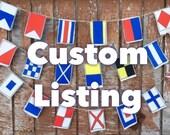 Custom order for Kay