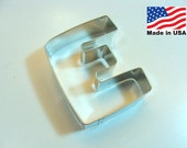 Capital Letter E Cookie Cutter