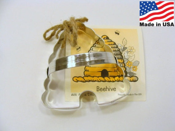 Beehive Cookie Cutter by Ann Clark