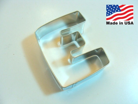 capital letter e cookie cutter from cookiecutterguy on capital letter e cookie cutter from cookiecutterguy on 390