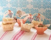 Tea Party Treats...6 Frilly & Fabulous Vintage Nut Cups