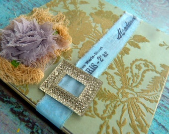 Tin, Altered Altoid Tin, altered art, gift box  -Paris
