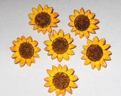 Sunflower Push Pins, Sunflower Thumb Tacks, Bulletin Board Push Pins, Sunflower Themed, Sunflower Decor, Sunflower Cork Board, Hand Painted