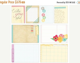 SALE Elle's Studio Serendipity Large and Medioum Journaling Tags
