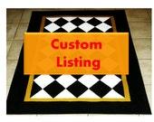 Custom Order for Helen Gomez
