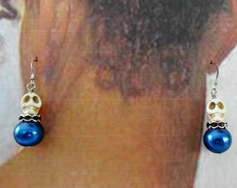 Sophisticated Skull Earrings