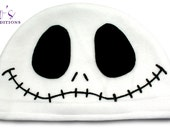 Jack Skellington Hat / Fleece Hat / Winter Hat / Nightmare Before Christmas Hat / Video Game Characters