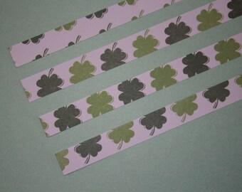 Origami Lucky Star Strips  -  Shamrock pack of 25