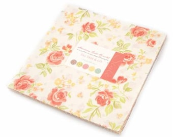 SALE It's here! Strawberry Fields Revisited 10 inch squares Layer Cake Moda Fabric - Fig Tree Quilts