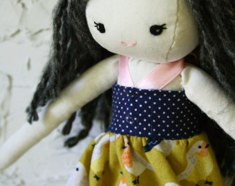 Cloth Collector Doll OOAK