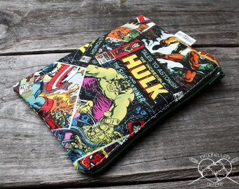 Reusable Snack Baggie Comic Book Superheroes Made To Order