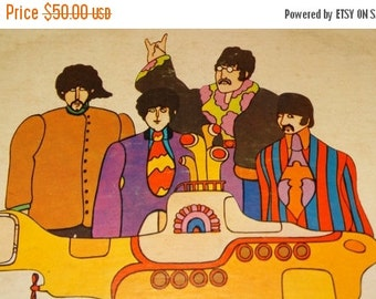 HUGE SALE 1969 The Beatles Yellow Submarine  Rock-n-Roll Music, Soundtrack, Produced by George Martin, SW-153 Apple Records