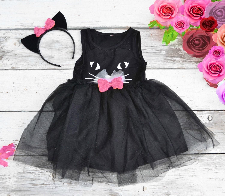 Black tulle dress toddler