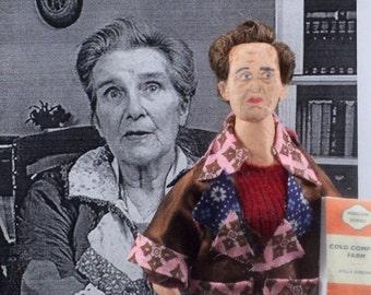 Stella Gibbons Author Writer Doll Miniature Art Literary Gift Idea
