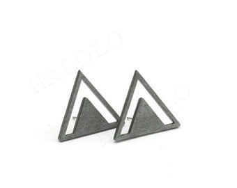 Triangle Wooden   Cabochons (WS 141)