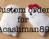 Custom order ghost plush
