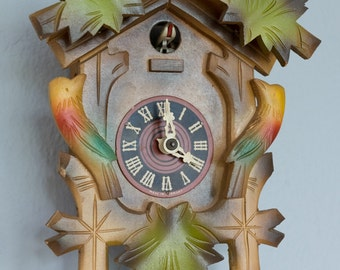 Vintage German Cuckoo Clock Not Working Helmut Kammerer