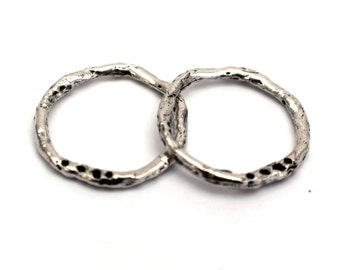 Earring Components Sterling Silver Artisan 002/SALE