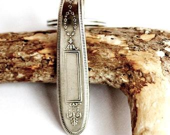 Vintage Silverware Spoon Key Ring Keychain by Hendywood