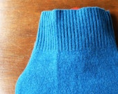 100% Cashmere Hot Water Bottle Cover. Gift for Her. Gorgeous Teal Cashmere Hot Water Bottle Cosy. Hot Water Bag Cover Sleeve. Eco Friendly