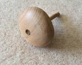 Vintage Wooden Darning Egg