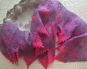 """5 1/4 """" Wide Hand Dyed Venise Lace, Trim, Embellishment, Quilts, Sewing"""