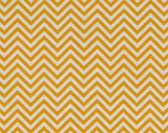 Remix Zig Zag Sunshine Robert Kaufman - Cotton Quilting Fabric  - fat 1/4 remnant