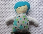 Parker Large Handmade Fabric Baby Doll
