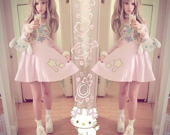 Magical Cutie Velvet Dress
