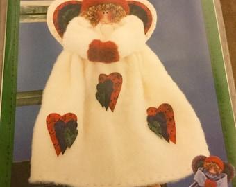 Angel  Doll Pattern  Uncut Vintage Angel Decoration