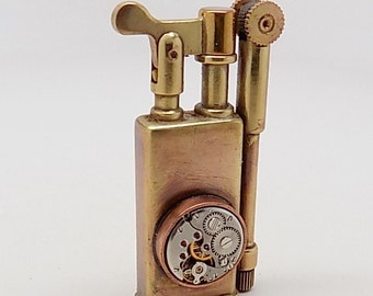 Steampunk lighter.