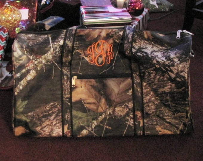 Camo Duffel, Travel or Gym Bag - Personalized amo Duffel Bag