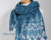 Custom order for Woodrow, Lace shawls, P448, P449