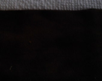 Plant Dyed  Felted Wool  Darkest  Brown    Black Walnut Husks