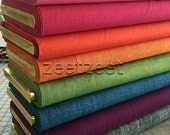 HEATH Crosshatch Alexander Henry Cotton Quilt Fabric by the Yard, Half Yard, or Fat Quarter - Choose from 10 COLORS