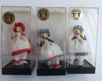 Three A-Dora-Ble Dolls Fabric
