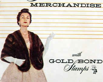 1950s Gold Bond stamps Merchandise catalog gifts catalog vintage catalog