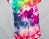 Rainbow Tie Dye Onsie 6-9 Months