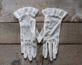 Vintage Summer Gloves, Sheer Summer Gloves, Evening Gloves, Summer Gloves, Vintage Gloves, Women's Vintage Fashion, Wedding Gloves