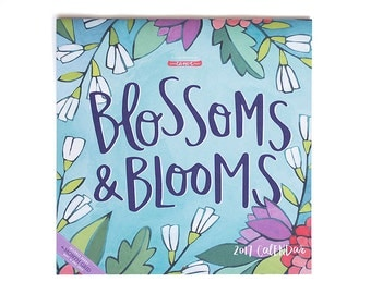 2017 Blossoms and Blooms Wall Calendar