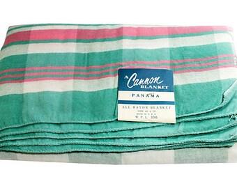 Vintage Canon Panama Blanket