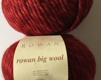 Rowan Big Wool Yarn (10 skeins)-Discontinued Color-Price is for 1 Skein-SUPER BOWL SALE