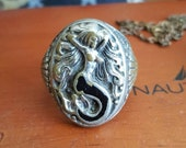 Reserved for  Sebastien Rodriguez- Custom recreation of Mermaid ring