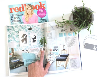 """As seen in REDBOOK Magazine - Modern Fringe Pillow Cover with Hand Knotted Tassels (16"""" x 16"""") by JillianReneDecor - Mod Home Decor - Boho"""