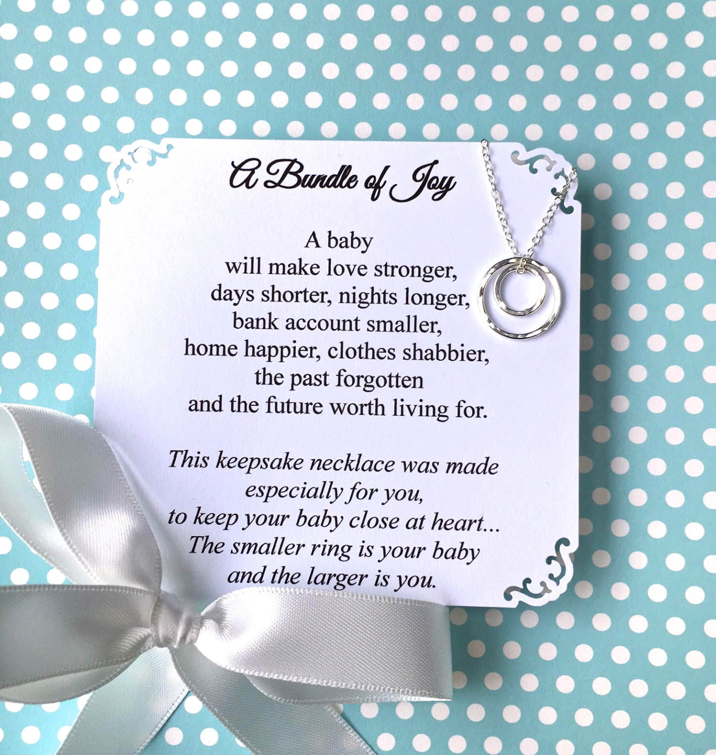 Baby Shower Tips For New Moms: New Mom Gift Baby Shower Gift For First Time Mom Jewelry New