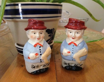 Sam Wetter Vintage Salt and Pepper Shakers