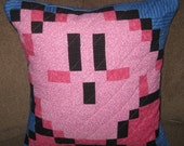 Kirby Quilted Pillow Cover - free shipping
