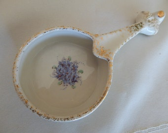 Forget Me Knot Spoon Rest - Vintage Ceramic - Signed and Numbered - Home Decor - Made in the USA