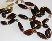 Ann Taylor Tigers Eye Necklace