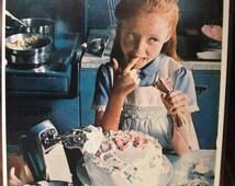 "Food 152   ""Cake Decorating ""  Ad  -  February 1974"